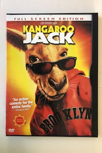 Kangaroo Jack DVD Maple Grove, 55369