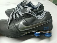 10.5 nike shox gray blue shoes Woodbridge, 22193