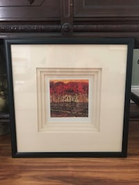 Brown wooden framed painting of nature  Gainesville, 32605