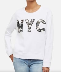 Kenneth Cole Swing Back NYC Sweatshirt XS (fits med) - New with tags Toronto, M1S 0G3