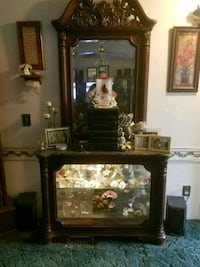 China cabinet with marble top Mount Olive, 28365