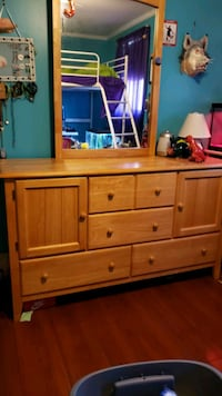 brown wooden dresser with mirror Providence County, 02828