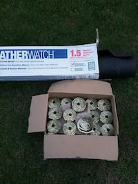 For sale roofing nails. and weather watch paper   Elkhart