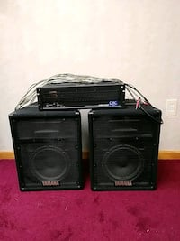Yamaha speakers and amplifier Severn, 21144