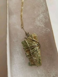 Fuchsite Pendant Necklace  Dayton, 45405