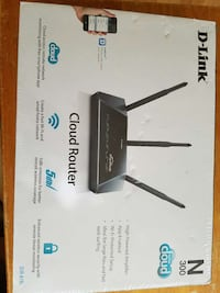 DLink wireless router new in box Atascadero, 93422