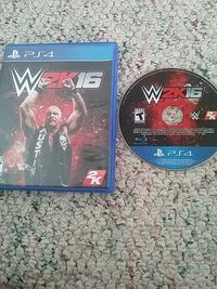 Sony PS4 WWE 2K16 game case with disc  Thurmont, 21788