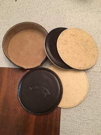 Baileys reversible coaster set with holder