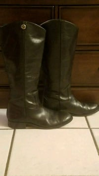 Frye size 8 leather black cowgirl boots Salinas, 93906