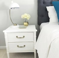 Henry Link night stand in white, Vintage Adamstown, 21710