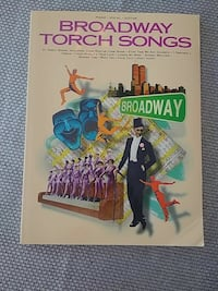 Music book Broadway torch songs Montreal, H2L 2Y6