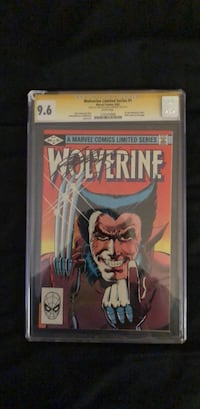 First solo appearance #1 wolverine Stan Lee signed Germantown, 20874