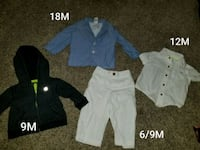 toddler's assorted clothes Amarillo, 79104