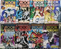 Comics! Moon Knight to Ultimate Fantastic Four. X-