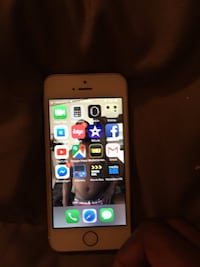 silver iPhone 5s with black case Milwaukee, 53212
