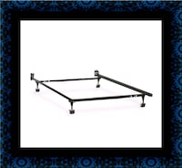 Metal frame rails full twin Queen $40 King $70 Mount Rainier, 20712
