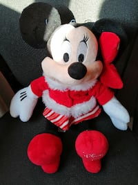 Muñeco de peluche mediano de Minnie. Madrid