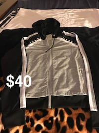 black and white zip-up jacket Pompano Beach, 33069