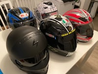 Motorcycle Helmets and Gloves