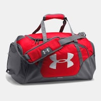 red and black Under Armour duffel bag Toronto, M5V