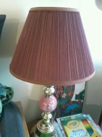 brown and pink table lamp 1299 km