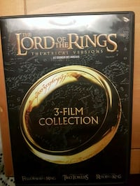 LOTR 3 FILM COLLECTION