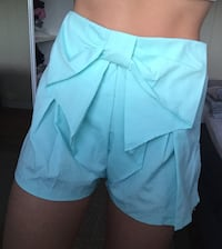 teal mini shorts Fosnavåg, 6092