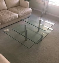Contemporary Glass Coffee Table Naples, 34102