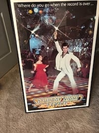 Saturday Night Fever Framed Movie Posters
