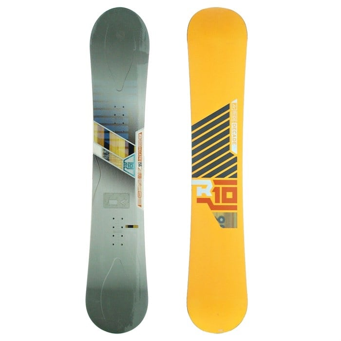 Ride Decade Snowboard Package with Bindings and Boots