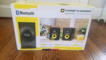 Bluetooth built in subwoofer pc speakers