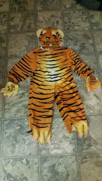 halloween costume Tiger 4T -6T Pickering