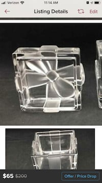 Tiffany box 3.5 inch cube