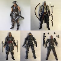 Video Game action figures skyrim assassins creed halo Port Perry, L9L 1B5
