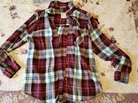 Womens red checkered shirt St. Catharines