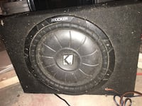 MUST SELL THIS WEEK Car bass speaker  Washington, 20012