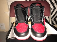 Bred toe 1s. Size 10.5. Dead stock. Never been tried on. Willing to negotiate!!! San Antonio, 78249