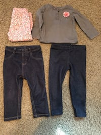 Baby girl clothes (size 12 months & 18 months) Lincoln, 68507