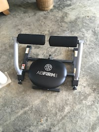 Ab Firm exercise equipment.