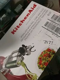 Kitchenaid attachment  Fairfax, 22030