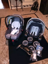 Graco fast action fold and click Car and Stroller  Windsor, 17366