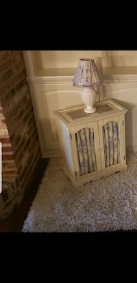 side table/cabinet with lamp Edmond, 73034