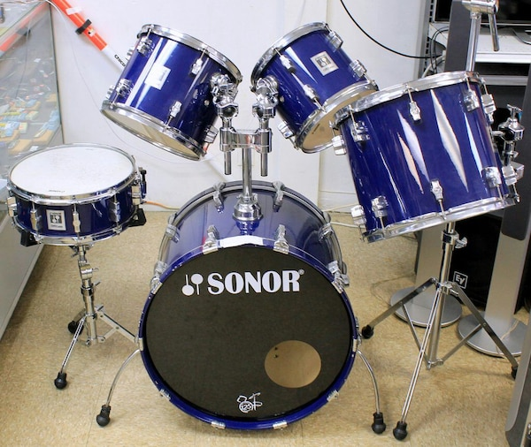ebd09fc35b51 Used SONOR FORCE 3001 5 DRUM SET Caribic Lacquer for sale in Tamarac ...
