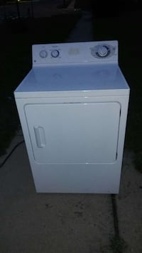 white General Electric front load washer