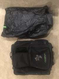 Wheeled Scuba Gear Luggage with travel cover.  Calgary, T3G 3Y9