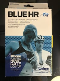 Blue HR iPhone powered heart rate monitor box