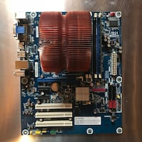 Intel 64 Bit Core i5 3.2 GHZ CPU Motherboard and 4 Gigs of RAM
