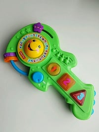 Fisher price jam and learn guitar