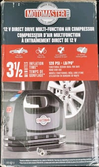 Tire Inflator/ Air Compressor (Digital) with FREE manual tire gauge.