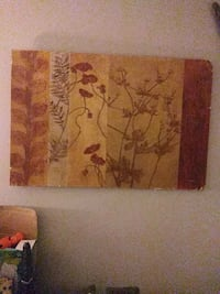 brown and black abstract painting Indianapolis, 46227